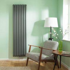 hudson reed radiatore di design verticale in colore. Black Bedroom Furniture Sets. Home Design Ideas