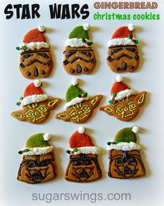 Sugar Swings! Serve Some: Star Wars Gingerbread Christmas Cookies | Sugar Swings