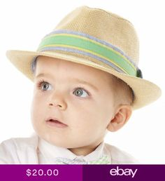 5ba08e54707 Mud Pie Straw Fedora One Size Fits Most 12-24 Months 2T-3T