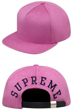 SUPREME LORO PIANA BACK ARC 5-PANEL CAP.