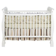 The DaVinci Jamie Stationary Crib is a lullaby you can touch. It features daybed/full bed convertibility, two stationary sides and is engineered not just for safety and convenience but also for serenity and comfort. Baby Corner, Convertible Crib, Full Bed, Baby Cribs, Baby Room, White Cribs, Stationary, Furniture, Home Decor
