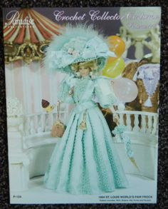 Paradise Publications Crochet Costume Pattern Volume 113 Barbie Fashion Doll