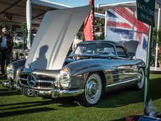 Concours memories: 300 SL beauty at the Amelia Island The Amelia Island Concours d'Elegance.