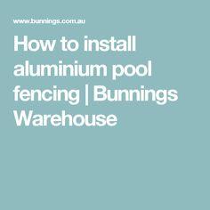 How to install alumi