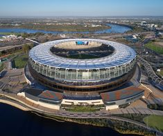 Congratulations to Hassell Studio, Cox Architecture & HKS Architects on winning the COLORBOND® Award for Steel Architecture at the 2018 Australian Institute of Architects' Awards, for the Optus Stadium in WA. Photography by: Peter Bennetts Public Architecture, Architecture Awards, Interior Architecture, Life Cycle Costing, Circular Buildings, Sports Stadium, Park Landscape, Pedestrian Bridge, Western Australia