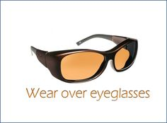 569c9a2ded Haven Solana in Mocha. The sunglasses you wear over your glasses!