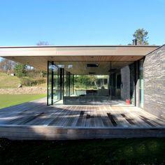 Casa R Facade - Christoffersen & Weiling Architects - Audrye Liverseege Aarhus, Danish Design, Denmark, Facade, Interior Design, Building, Outdoor Decor, Home Decor, Inspiration