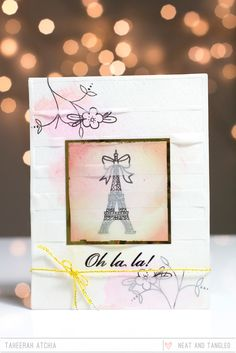 Neat and Tangled: Paris stamp set