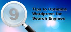 Optimize wordpress for search engines