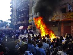 Clashes Continue In Egypt As Morsi Defends New Powers