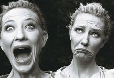 """Cate Blanchett by Annie Leibovitz, """"Vogue,"""" December 2009"""
