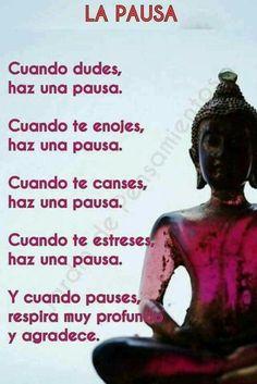 Autoayuda y Superacion Personal Yoga Mantras, Yoga Quotes, Words Quotes, Wise Words, Life Quotes, Zen Words, Yoga Meditation, Positive Vibes, Positive Quotes