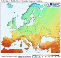 Χάρτης ενέργειας Ευρώπης