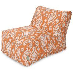 Peach Raja Bean Bag Chair Lounger