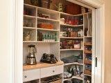organized kitchen cupboard