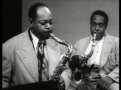 CHARLIE PARKER & COLEMAN HAWKINS   Ballade  1950, rare performance of charlie parker on tape