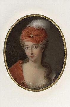 FRANÇOISE MARIE DE BOURBON SECONDE MMLLE DE BLOIS by the lost gallery, via Flickr