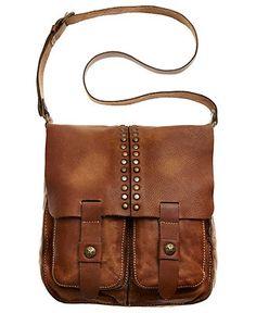 Patricia Nash Handbag, Vintage Washed Armeno Messenger Bag - Crossbody & Messenger Bags - Handbags & Accessories - Macy's