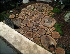 Idea for around Gretchen's huge tree this spring