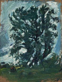 A grande árvore, 1942 Chaim Soutine (Ucrânia, 1893 – França, 1943) Óleo sobre tela, 99 x 75 cm Museu de Arte de São Paulo