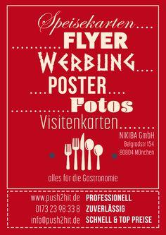 www.push2hit.de webdesign aus münchen für restaurants.