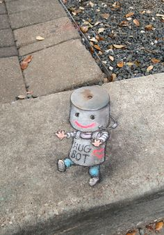 Stumbled across a hugbot on the rampage at the Houston Via Colori festival yesterday. Resistance is embraceable!