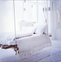 i want so many hanging objects in my house white dream