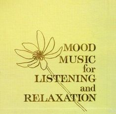 "Various Artists / Mood Music for Listening and Relaxation | Reader's Digest RDS-43 | Album (12"" Record) 