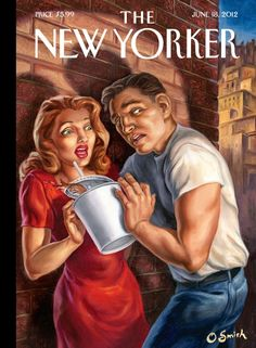 Cover of The New Yorker by CCA faculty member Owen Smith, June 18, 2012