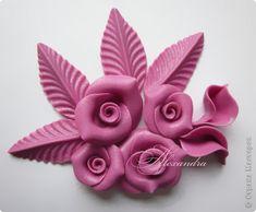 Мастер-класс День рождения Свадьба Лепка Цветы МК Пластика фото 9