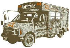 Brewvana Van | Portland Brewery Tours | Looking for a great gift to give away for the holiday! These tours are awesome!