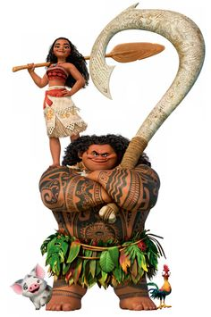 Moana and Maui: Ocean Explorers