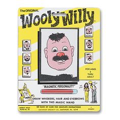 wooly willy!