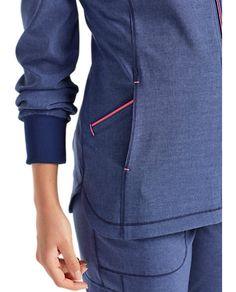 Nursing Jackets, Nursing Clothes, Stylish Scrubs, Scrubs Outfit, Scrub Jackets, Medical Uniforms, Golf Wear, Womens Scrubs, Medical Scrubs