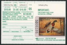 TN16  1994 Tennessee State Duck Stamp with License MNH Mallard