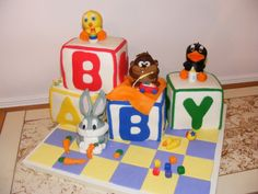 baby looney tunes blocks
