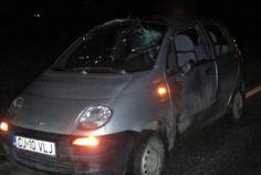 Accident rutier la Gherla din cauza unui caine - VIDEO Car, Automobile, Autos, Cars