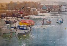 Watercolor Artists, Watercolour, Gouache Painting, Monet, Impressionist, Art Forms, Art Gallery, At Least, Arts And Crafts