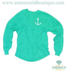 Only two sizes left!!! The Emerald Boutique Mint Coastal brightens our day every time we wear it!