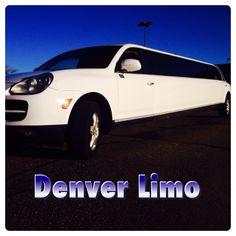 Porsche Cayenne Limo in Denver 303-699-7788 Www.limoservicedenver.com #denverlimo #porsche #cayenne