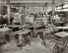 "1919. ""Oppenheimer's dress shop."" National Photo Company Collection glass negative"