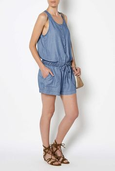 Chambray Playsuit #witcherystyle