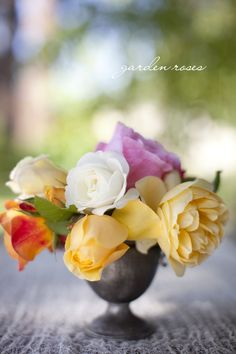 Roses #roses #foraldesign #floralarrangement @Silvana Di Franco Photography #yellow