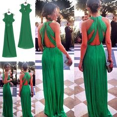 Womens Formal Prom Long Cocktail Party Ball Gown Evening Bridesmaid Dress Tide in Clothes, Shoes & Accessories, Women's Clothing, Dresses | eBay