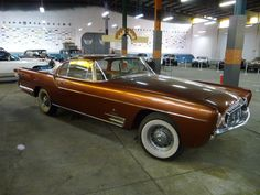 Ghia Chrysler Special - for the Shah of Persia (Iran), 1957 Cars Usa, Us Cars, Fancy Cars, Cool Cars, Ram Trucks, Mopar, Rat Rods, American Dream Cars, Vintage Cars
