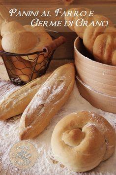 Menta e Cioccolato: Panini al Farro e Germe di Grano...quando prende la voglia di mettere le mani in pasta!