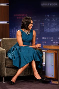 Michelle Obama, Jason Wu. :)