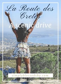 La Route des Cretes is hands down one of the scariest drives I've ever taken. In the Provence-Alpes-Côte d'Azur region, this is an extremely scenic drive Mykonos Greece, Crete Greece, Athens Greece, Santorini, Visit France, South Of France, Greece Travel, Travel Europe, Tours France