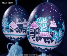 UA06207 (Stand Not Included). This Ukrainian Pysanky was created by the Artist: Iryna-Lviv. This Pysanka is made from a Chicken Egg as a Christmas Ornament.