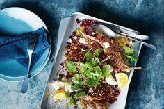 Let's face it, lamb tends to be the nation's top pick when it comes to meat. And who can blame us? A succulent piece of lamb adds flavour ten-fold to any dish. Welcome a little more lamb into your life this weekend with these 60 tasty. Lamb Recipes, Salad Recipes, Cooking Recipes, Lamb Dishes, Tasty Dishes, Healthy Meals To Cook, Healthy Recipes, Healthy Food, Lamb Cutlets Recipe